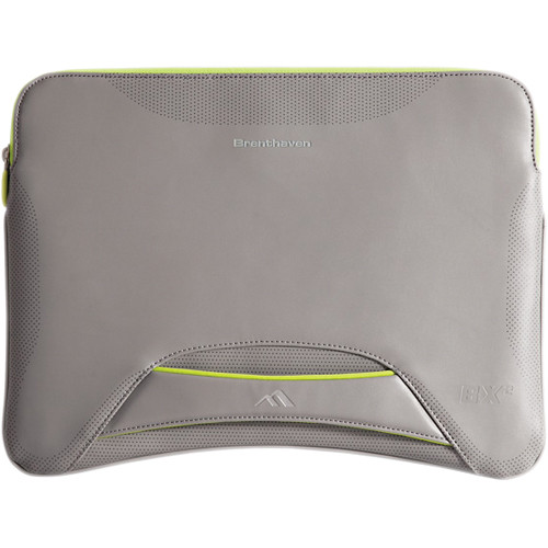 """Brenthaven BX2 Sleeve for 11"""" Macbook Air (Gray)"""