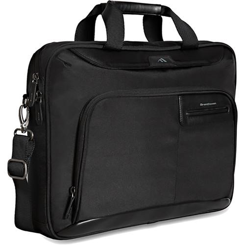 Brenthaven Elliot Slim Laptop and Tablet Brief (Black)