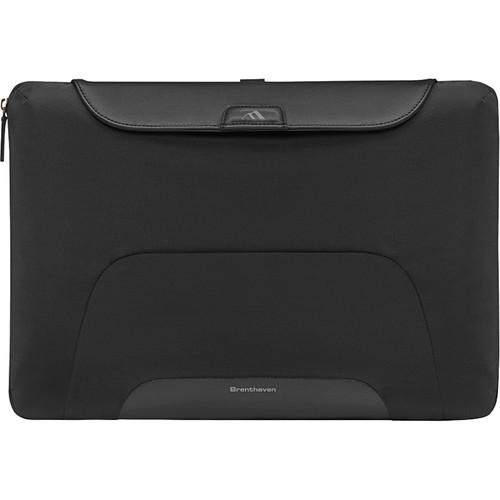 """Brenthaven Elliot Sleeve Plus for 15.4"""" Laptop (Black)"""