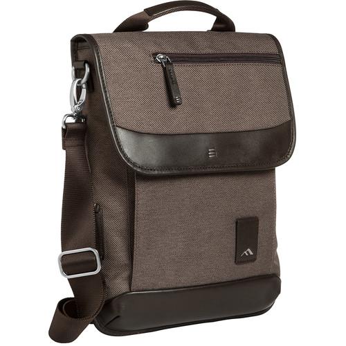 """Brenthaven Medina Vertical Messenger Bag for 13.3"""" Laptop (Chestnut)"""