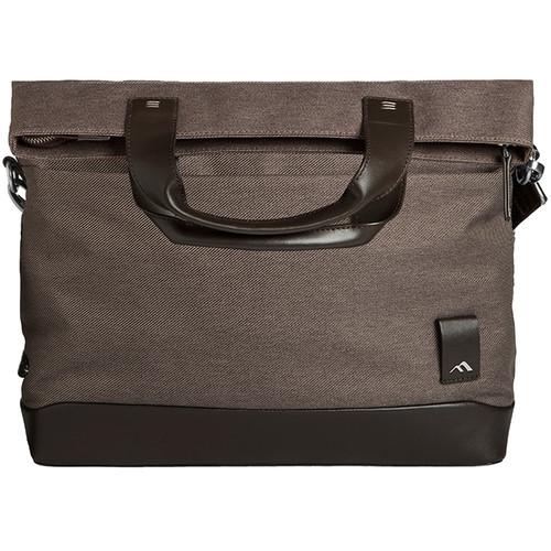 "Brenthaven Medina Fold-Over Messenger Bag for 13.3"" Laptops (Chestnut)"