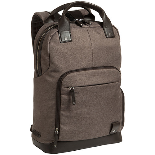 "Brenthaven Medina Tote Backpack for 15.4"" Laptop (Chestnut)"