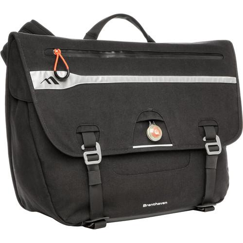 """Brenthaven Velo Messenger Bag for 16"""" Laptop (Black)"""
