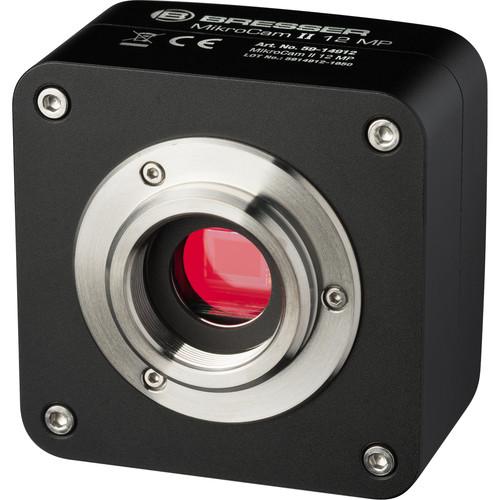 BRESSER MikroCam II 12MP USB 3.0 Microscope Camera (Black)