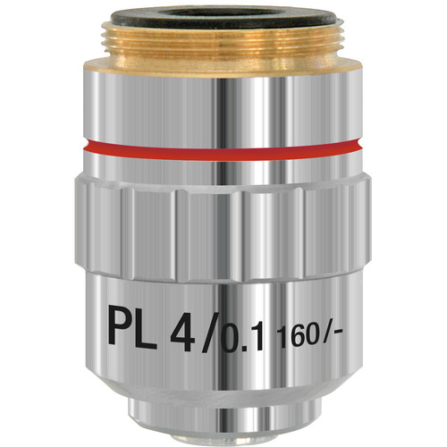 BRESSER 4x Din-Planachromatic Objective Lens