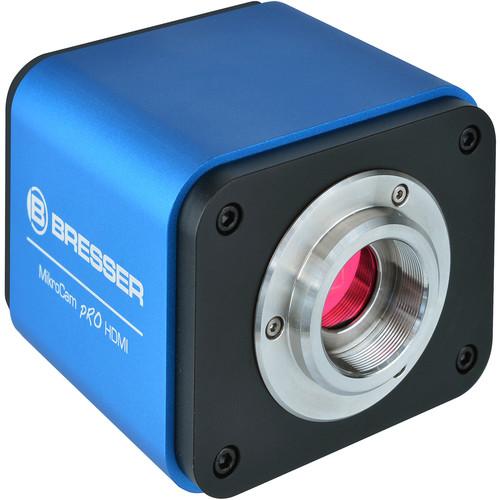 BRESSER MikroCam Pro HDMI Camera with C-Mount (Blue)