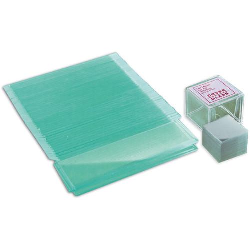 BRESSER Blank Slide and Coverslip Set (50 Blank Slides, 100 Coverslips)