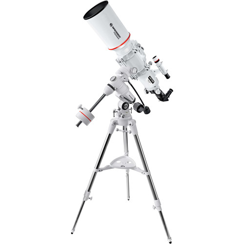 "BRESSER Messier 4"" f/5.9 Achro Refractor Telescope with Exos-1 EQ Mount and Tripod"