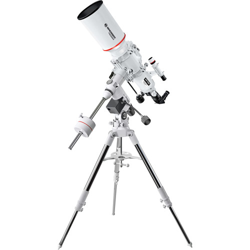 """BRESSER Messier 4"""" f/5.9 Achro Refractor Telescope with Exos-2 EQ Mount and Tripod"""