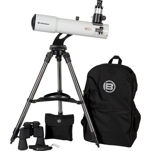 BRESSER Bresser AR102S Comet-Series Telescope Kit with Bag and Binocular