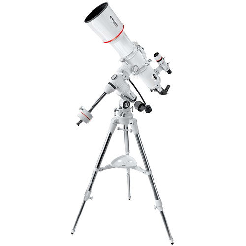 "BRESSER AR-127S Messier 5"" f/5 Achro Refractor Telescope with Exos-1 Manual EQ Mount and Tripod"