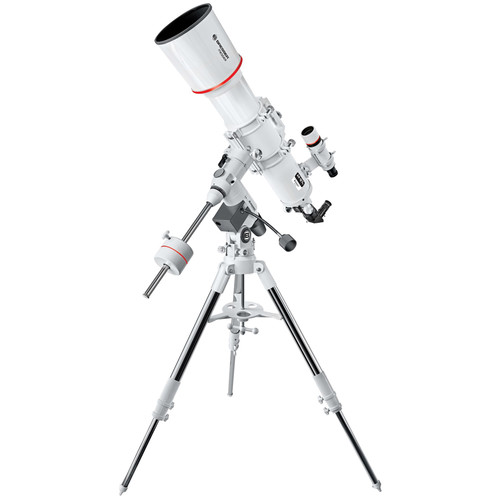 "BRESSER AR-127S Messier 5"" f/5 Achro Refractor Telescope with Exos-2 Manual EQ Mount and Tripod"