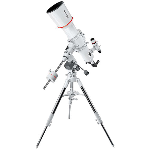 "BRESSER AR-127S Messier 5"" f/5 Achro Refractor Telescope with Exos-2 GoTo Motorized Mount and Tripod"