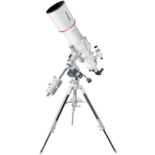 "BRESSER AR-152S Messier 6"" f/5 Achro Refractor Telescope with Exos-2 Manual EQ Mount and Tripod"