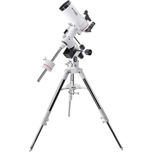 """BRESSER MC-100 Messier 4"""" f/14 Maksutov-Cassegrain Telescope with Exos-2 Manual EQ Mount and Tripod"""