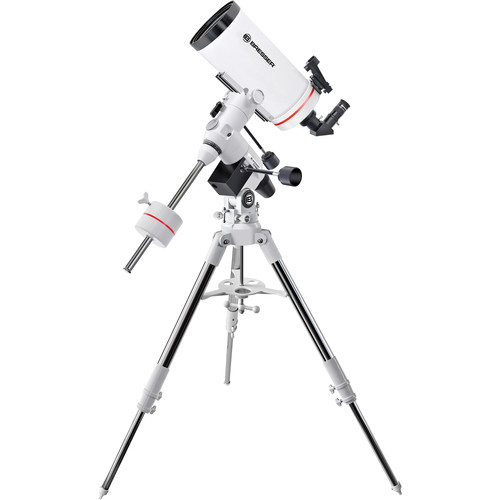 "BRESSER MC-127 Messier 5"" f/15 Maksutov-Cassegrain Telescope with Exos-2 Manual EQ Mount and Tripod"