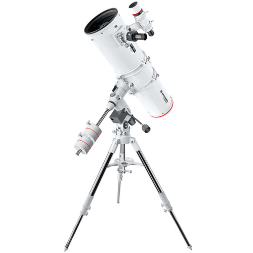 "BRESSER Messier NT203 8"" f/5 Reflector Telescope with Exos-2 Manual EQ Mount and Tripod"