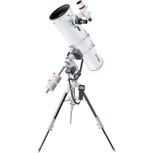 "BRESSER Messier NT203 8"" f/5 Reflector Telescope with Exos-2 GoTo Motorized Mount and Tripod"