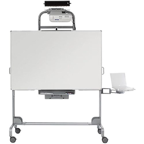 Bretford EXPLORE Series Mobile Interactive Whiteboard with Universal Mounting Bracket