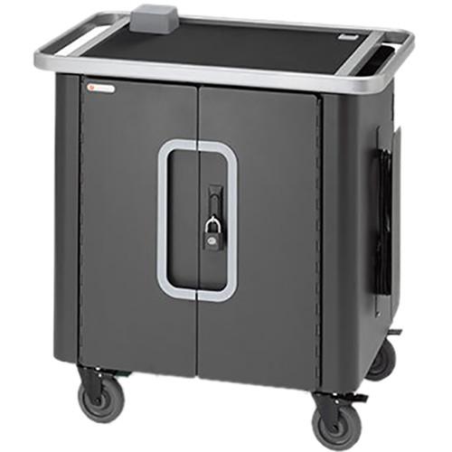 Bretford PowerSync+ Cart 20 for Up to 20 iPad/iPad mini Tablets