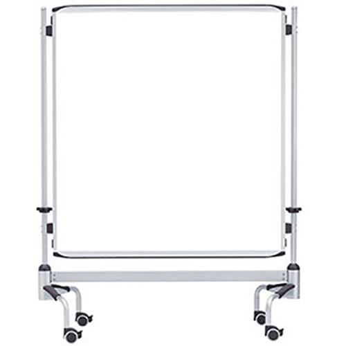 "Bretford Here 60"" Porcelain Dry Erase Mobile Board"