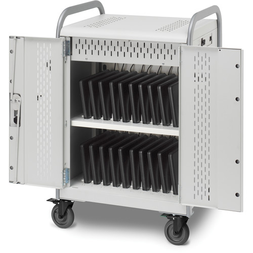 Bretford Pulse 20L MDMLAP20-90D Storage and Charging Cart