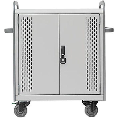 Bretford Pulse 20L MDMLAP20BP-CTAL Storage and Charging Cart (with Removable Back Plate)