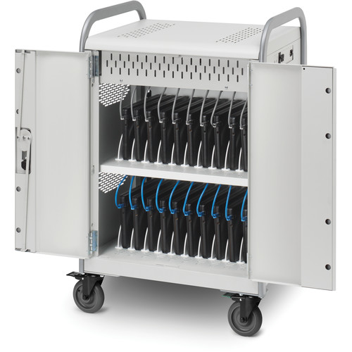 Bretford Link 20L MDMLAP20NR Storage and Charging Cart