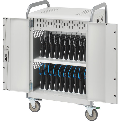 Bretford MDMLAP20NR-CTAL 20-Unit Laptop / Netbook Storage Cart