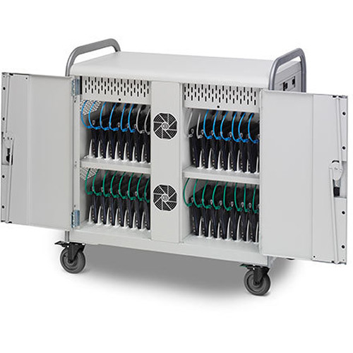Bretford Link 32L MDMLAP32NR Storage and Charging Cart