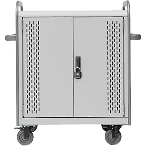 Bretford Pulse 24M MDMTAB24BP-CTAL Storage and Charging Cart (with Removable Back Plate)