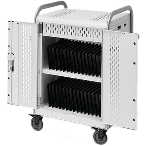 Bretford Pulse 30S MDMTAB30BP-CTAL Storage and Charging Cart (with Removable Back Plate)