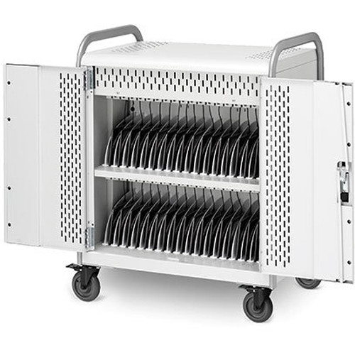 Bretford Pulse 36M MDMTAB36BP-90D Storage and Charging Cart (with Removable Back Plate)
