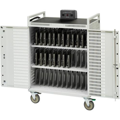 Bretford NETBOOK36-CT 36-Unit Netbook Storage Cart (CT)