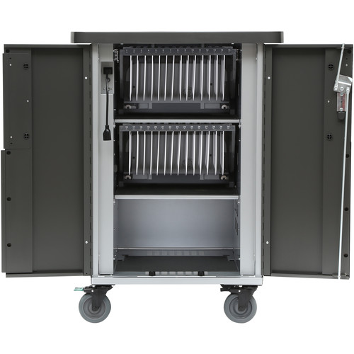 Bretford EVER Cart with MiX Module System for Up to 30 Devices (DC)