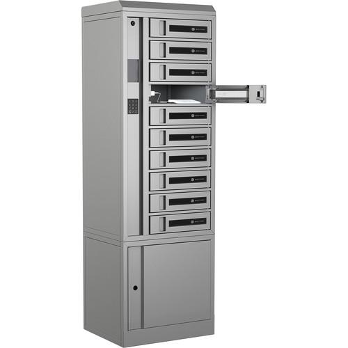 Bretford TechGuard Connect 10-Bay Charging Locker with RFID & PIN (USB Type-A)