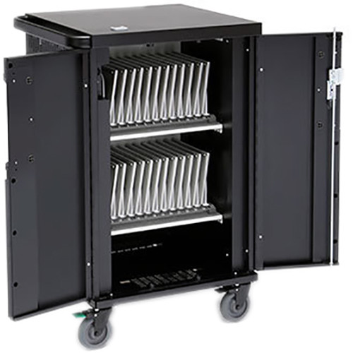Bretford Core X Charging Cart with Rear Door for Up to 24 Devices