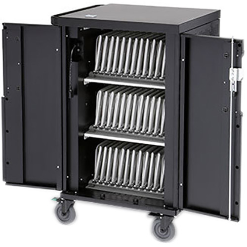 Bretford Core X Charging Cart with Rear Door for Up to 36 Devices