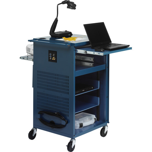 Bretford PAL Multimedia Presentation Cart (Topaz)