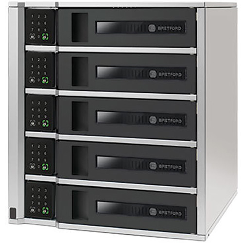 Bretford 5-Bay TechGuard Locker with USA Keypad Channel