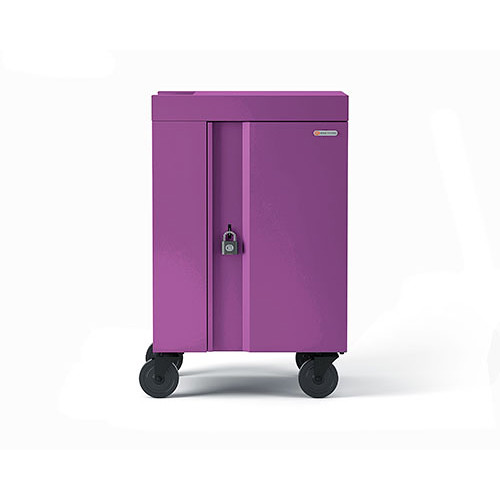 Bretford 20-Device CUBE Mini Charging Cart (Orchid)