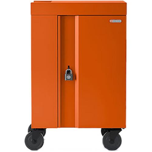 Bretford 20-Device CUBE Mini Charging Cart (Tangerine)