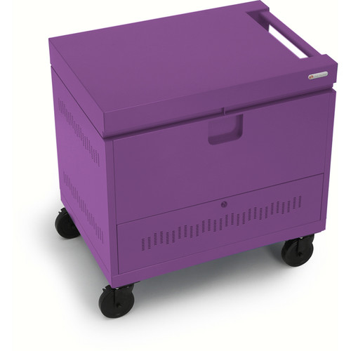 Bretford CUBE Toploader 40-Device Charging Cart (Orchid)