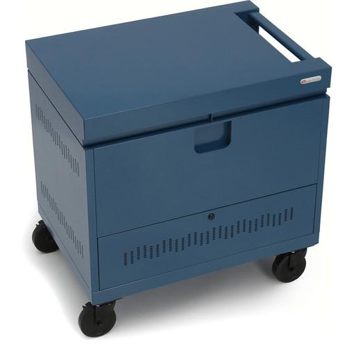 Bretford CUBE Toploader 40-Device Charging Cart (Topaz)