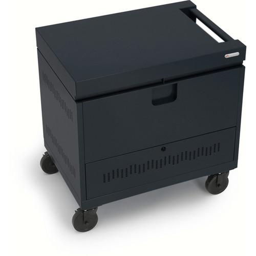 Bretford CUBE Toploader Mini 20-Device Charging Cart (Black)