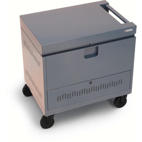 Bretford CUBE Toploader Mini 20-Device Charging Cart (Platinum)