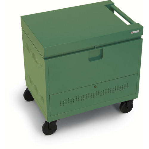 Bretford CUBE Toploader Mini 24-Device Charging Cart (Grass)
