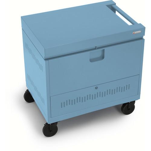 Bretford CUBE Toploader Mini 24-Device Charging Cart (Sky)
