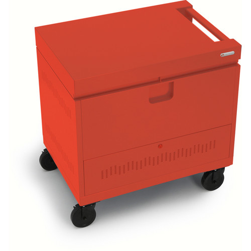 Bretford CUBE Toploader Mini 26-Device Charging Cart (Red)