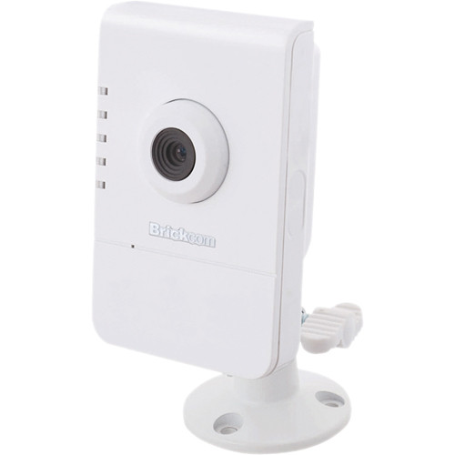 Brickcom CB-100A Series 1MP Indoor Compact Cube Network Camera with 1-Way Audio & 3.6mm Fixed Lens